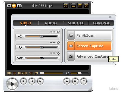media player La mejor forma de capturar imágenes de vídeos