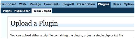 plugin uploader