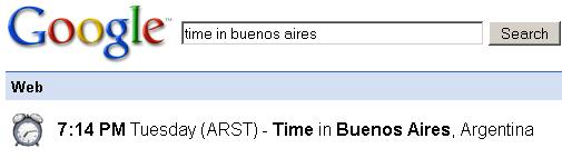 tiempo bs as