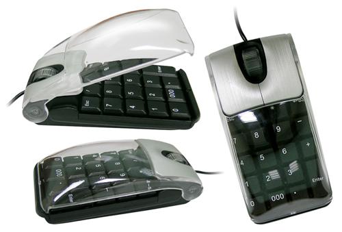 raton teclado numerico portatil